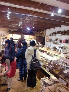Lovely little shop with delicious nougat @Valloire Galibier