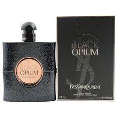 Black Opium Eau De Parfum Spray 3 oz by Yves Saint Laurent   THE PERFUME BARON