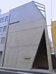 tadao ando: kamigata rakugo storyteller's association hall, osaka #minimalistarchitecture