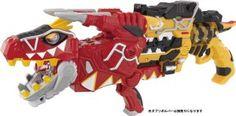 Dino Charge Gabutyra de Carnival combined with the Gabu Revolver (Zyuden Sentai Kyoryuger)