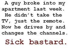 Bastard!