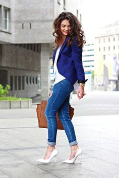 """"""" Navy Blue by FashionHippeLoves """""""