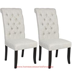 Best Choice Products Furniture Set Of 2 Tufted Parsons Dining Chair Set Modern Wood Linen Side Chair BUY NOW     $134.95    Best Choice Products is proud to present this brand new Pair of White Dining Chairs. Enjoy supper, lunch, or get-togethers in ..  http://www.homeaccessoriesforus.top/2017/03/05/best-choice-products-furniture-set-of-2-tufted-parsons-dining-chair-set-modern-wood-linen-side-chair/