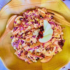 """Pennysprimalkitchen on Instagram: """"Labor Day weekend is approaching and this ✨Apple & Almond Slaw✨ is the perfect dish to go with all things grilled!  It's full of flavor…"""""""