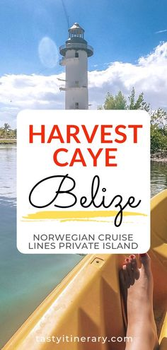 Spent your cruise day on Norwegian Cruise lines private island in Harvest Caye Belize. See the things to do in Harvest Caye. #belize #cruiseday #cruienorwegian #westerncaribbean #cruiselife #cruisetips #travelguide