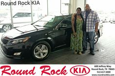 #HappyAnniversary to Shae Reed on your 2014 #Kia #Optima from Kelly  Cameron at Round Rock Kia!