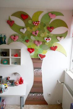 a tree in a room... with tuto    *** thanks for pinning me <3 ***