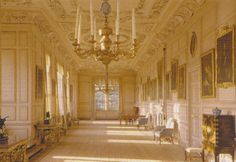 Sudbury Hall - the long gallery (National Trust Photo Library Andreas von Einsiedel) Setting for Pemberley, Pride and Prejudice, 1995