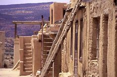 Acoma Pueblo Houses