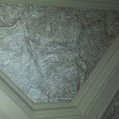 Glittery glass bead elephant skin Extraordinary Wall Designs Cassy Wedell