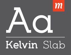 Kelvin Slab Font