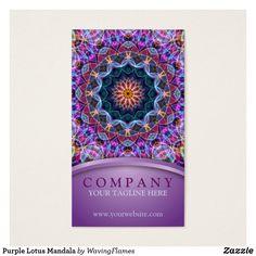 Purple Lotus Mandala