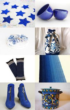 with blue  by Jana on Etsy--Pinned with TreasuryPin.com