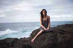 Chloe Bennet in Queen's Bath in Hawaii July 2017
