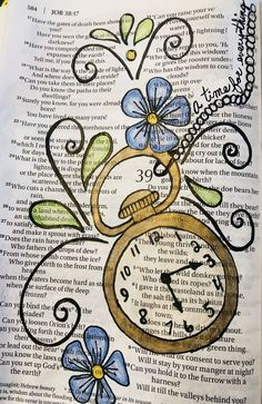 A time for everything. - A time for everything. A time for everything. Job Bible, Faith Bible, Bible Art, Bible Journaling For Beginners, Bible Study Journal, Journal Art, Bible Drawing, Bible Doodling, Lds
