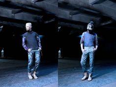 Shaun Ross Campagne #KRJST #fashion #art #belgium #shaunross