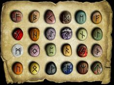 "Runes are an ancient alphabet system believed to be created by the Celtics, Scandinavians and Germans back in 98AD. The word Rune translates to ""whisper"" or ""holy secret"" and each letter is believed to hold an energetic message that offers..."