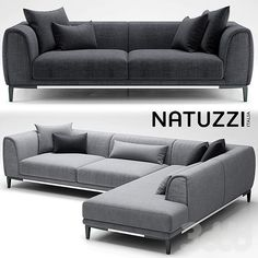 sofa natuzzi trevi Model available on Turbo Squid, the world's leading provider of digital models for visualization, films, television, and games. Corner Sofa Design, Living Room Sofa Design, Modern Sofa Designs, Sofa Set Designs, Sofa Furniture, Furniture Design, L Shaped Sofa Designs, Modular Couch, Muebles Living