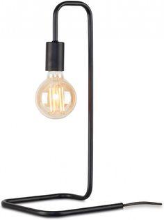 It's About RoMi Tafellamp London zwart metaal 20x20x45,5cm It's About Romi