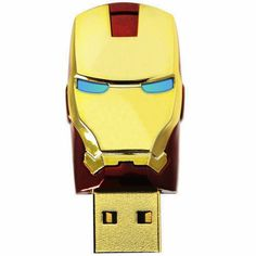 Iron Man Mask The Avengers Metal 16GB Usb 2.0 Memory Stick Flash Drive Red: Amazon.ca: Computers & Tablets