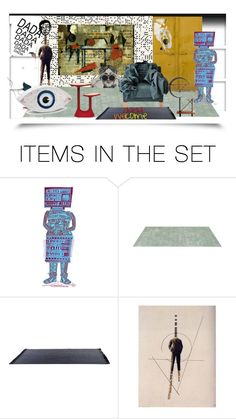 """Dada house"" by pepitarita ❤ liked on Polyvore featuring art"