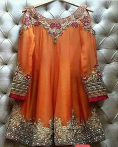 We are taking orders for stunning outfit ♥️ ✅ For price and queries please DM us or you can Call/Message/WhatsApp us on… Pakistani Party Wear Dresses, Shadi Dresses, Pakistani Wedding Outfits, Pakistani Dress Design, Indian Dresses, Indian Outfits, Wedding Dresses, Stylish Dress Designs, Stylish Dresses For Girls