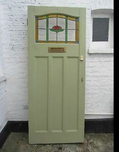 Stained Glass Front Door 34 X 82 Inches