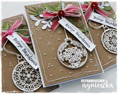 Diy Christmas Cards, Christmas Gift Wrapping, Xmas Cards, Diy Cards, Holiday Cards, Christmas Crafts, Stamping Up, Christmas Inspiration, Cardmaking