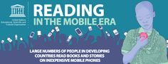 If you haven't already seen this, it's the very interesting infographic summary of the UNESCO Report on Reading in the Mobile Era http://www.unesco.org/new/fileadmin/MULTIMEDIA/HQ/ED/pdf/infographic-FINAL.pdf