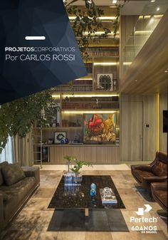 Soluções completas para seu projeto. Padrão PP7971 American Oak. Carlos Rossi Arquitetura #ProjetosCorporativos #PertechSoluções #CarlosRossiArquitetura #Corporate #EscolhaInteligente #ForWork #Office #Design