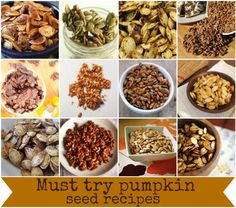 Must try pumpkin seed recipes