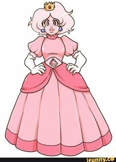 Pink diamond dressed as peach