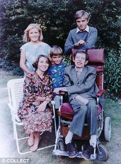Image result for stephen hawking children