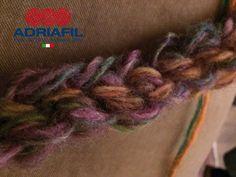 Intrecci di #Cromia... stupendi e soffici giochi di colore.  Sarà questo il filato protagonista della NL #Adriafil  di novembre?  Per scoprirlo ISCRIVITI! CLICCA QUI: http://bit.ly/AdriafilNLITA_  Filato #cromia: http://bit.ly/AdriafilCromiaITA