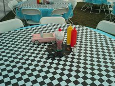 Fifties party decor