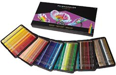 Prismacolor Premier Sets of Colored Pencils on discount sale prices. Buy Prismacolor colored pencil sets of 72 and more. Soft core set of colored pencil features a thick, soft core made from brilliant, light-resistant pigments. Prismacolor 150, Colores Prismacolor Premier, Pencil Eraser, Pencil Art, Pencil Drawings, Pencil Sharpener, Pencil Holder, Adult Coloring, Art Tutorials