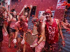 La tomatina 2015 La Tomatina 2015 Is. La Tomatina is a food fight festival held on the last Wednesday of August each year in the town of Bunol near to Valencia in Spain. The 2015 edition of La Tomatina is its 70th. Seven decades have passed since the first accidental fight between two young boys...  labnol.asia/wp-content/uploads/2015/08/La-Tomatina1-1024x...  labnol.asia/la-tomatina-2015/