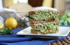 Chickpea Pesto Sandwich | The Body Department