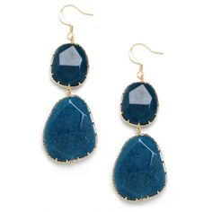BaubleBar Indigo Boho Drops ($34) ❤ liked on Polyvore featuring jewelry, earrings, accessories, fish hook earrings, bohemian jewelry, bohemian style jewelry, indigo jewelry and baublebar jewelry