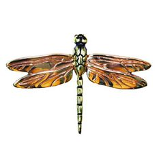 Michael Healy Dragonfly Brass/Bronze Door Knockers from Cabinet Knobs and More