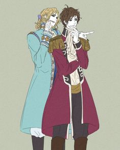 France and Spain Hetalia Characters, Fictional Characters, Hetalia France, Latin Hetalia, Bad Touch Trio, Hetalia Axis Powers, Fandom, All Anime, Drawing