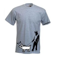 Banksy Haring Dog T-shirt    Simply Repin this T-shirt to be in with a chance of winning it!