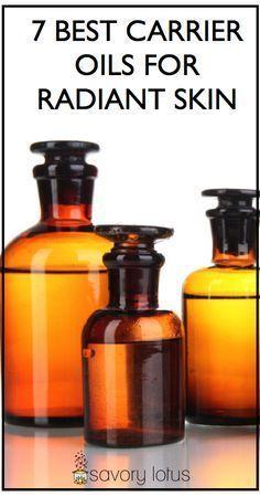 7 Best Carrier Oils for Radiant Skin - www.savorylotus.com