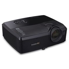ViewSonic PRO8520HD 1080p 3D DLP Home Theater Projector (Discontinued by Manufacturer). Screen Size Range: 78-inches from 8 feet; 117-inches from 12 feet. Brightness: 5000 Lumens. Contrast Ratio: 8,000:1, Keystone Correction: Vertical +/- 20º. Warranty: 3 Years parts & labor, 1 year lamp and 1 year free express exchange*; Lamp Life: 2,500 / 3,000 hrs. HDMI x2, S-Video, VGA x2, Composite, Component Video, 3.5mm Audio, 3.5mm Mic, 12V Trigger, USB, Mini-B, RJ-45, RS-232.