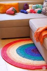 Resultado de imagen para alfombra crochet redonda