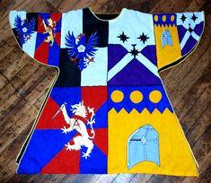 Inspiration from AEMMA.  Heraldic tabards.
