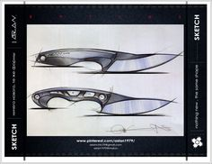 knives Knife Drawing, Knife Patterns, Neck Knife, Drawing Templates, Chef Knife, Knives And Swords, Survival Knife, Blade Runner, Blacksmithing