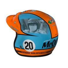 Helmet Steve Mc Queen by Troy Lee Designs