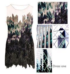 Fashion Portfolio - architecture-inspired textile design - collection development; fashion design process; fashion sketchbook // Kate Lawson