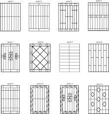 Resultado de imagen para proteccion de herreria para ventanas Gate Design, House Design, Iron Window Grill, Iron Windows, Wrought Iron Doors, Steel Art, Grill Design, My Room, Diy Furniture